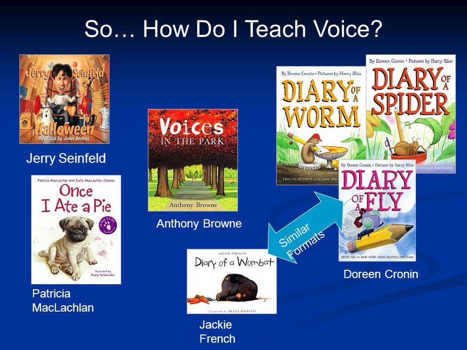 So… How Do I Teach Voice.