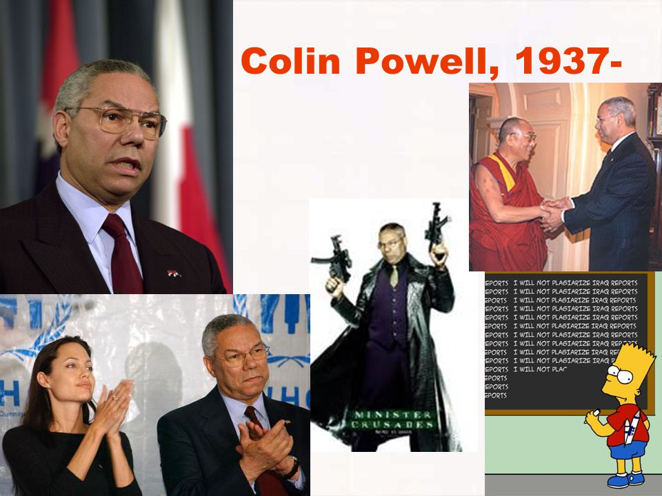 Colin Powell, 1937-