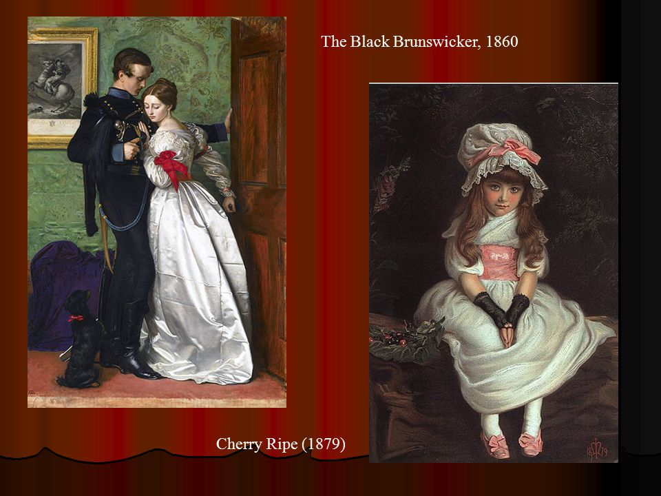 The Black Brunswicker, 1860 Cherry Ripe (1879)