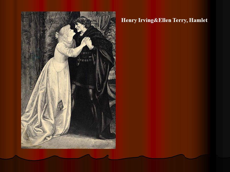 Henry Irving&Ellen Terry, Hamlet