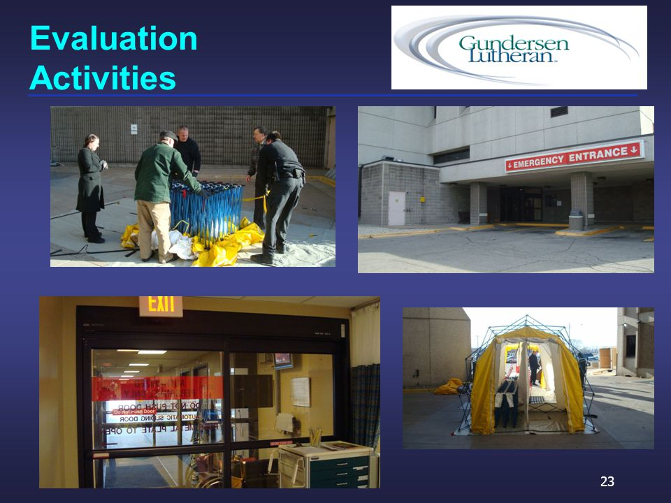 Evaluation Activities 23