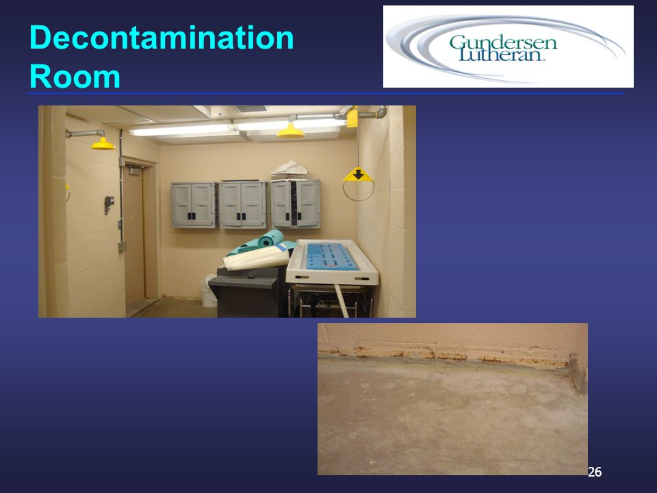Decontamination Room 26