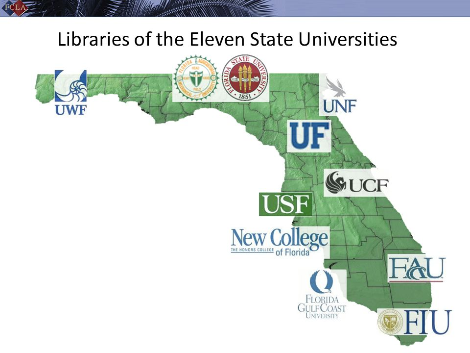 Libraries of the Eleven State Universities