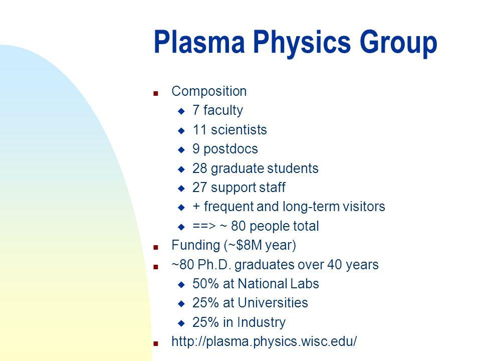 Why to Study Plasma Physics.