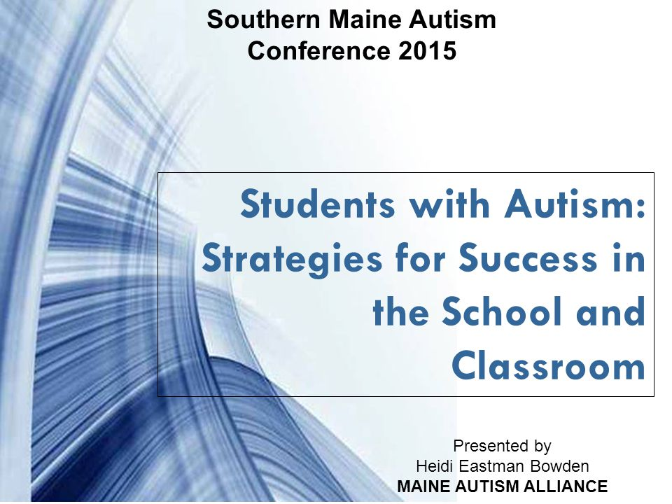 Powerpoint Templates Page 32 TEN THINGS YOUR STUDENT WITH AUTISM WISHES YOU KNEW BY ELLEN NOTBOHM 2.