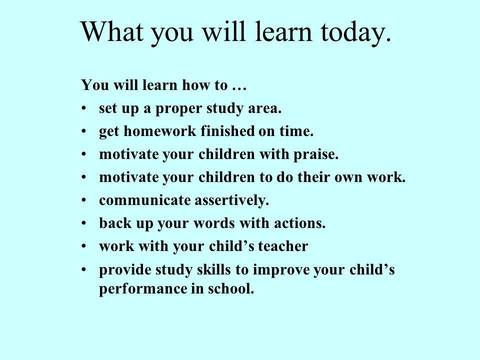 HOMEWORK Homework can also bring parents and educators closer together.