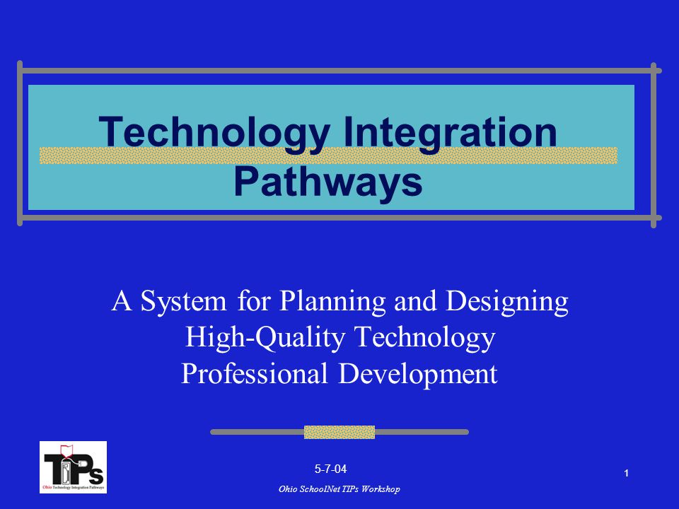 Ohio SchoolNet TIPs Workshop Instructional Design Team Ohio SchoolNet and Ohio Board of Regents INFOhio Ohio Department of Education Ohio Educational Service Centers Ohio Educational Technology Agencies Ohio Resource Center Ohio School Districts ORCLISH Special Education Regional Resource Centers State and Private Colleges 2