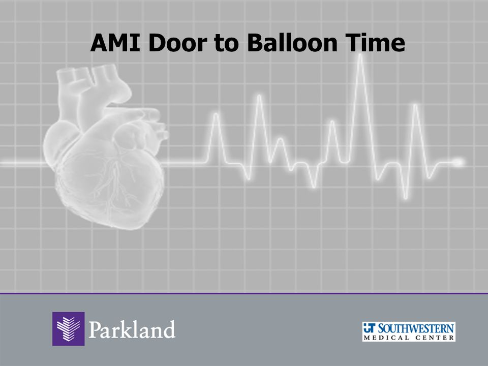 AMI Door to Balloon Time