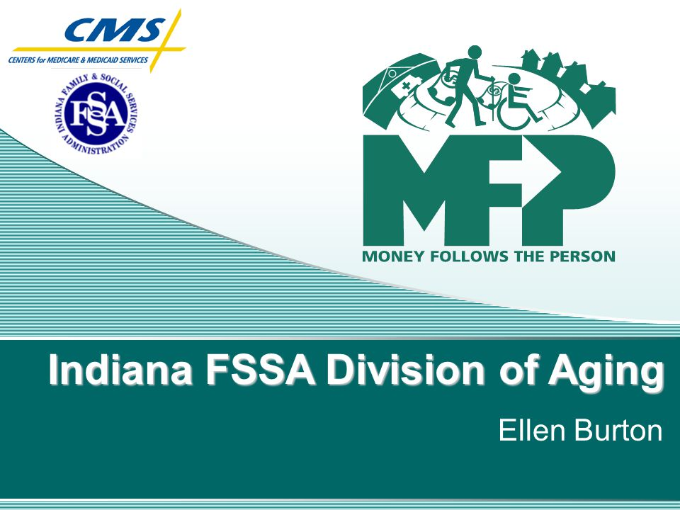 Indiana FSSA Division of Aging Ellen Burton