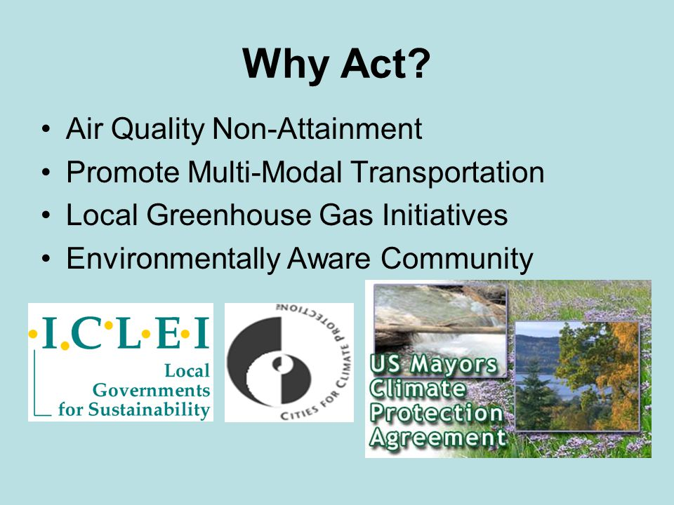 Community Target Reduce emissions 30% by 2030 through local, state, and federal action