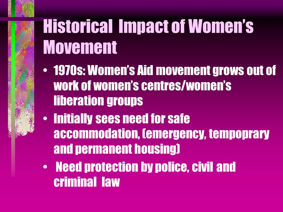 Basic Findings:1 Great variety of initiatives at local level had often existed for some time (over 200 at time of our research) Often initiated by women's aid groups needing more co-operation from local agencies