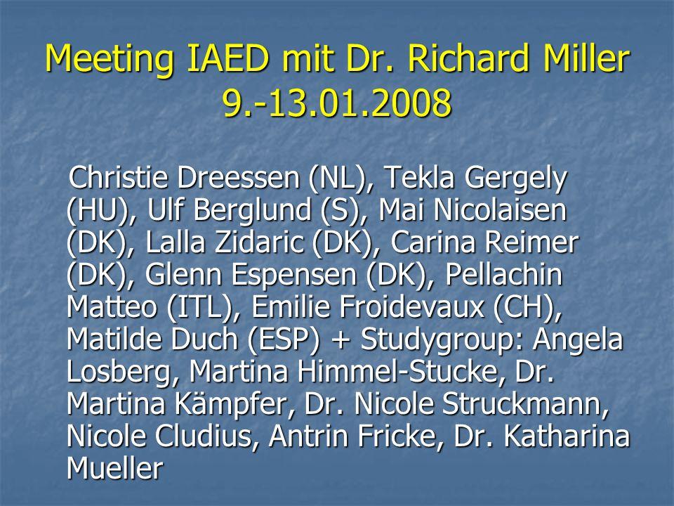 Meeting IAED mit Dr.