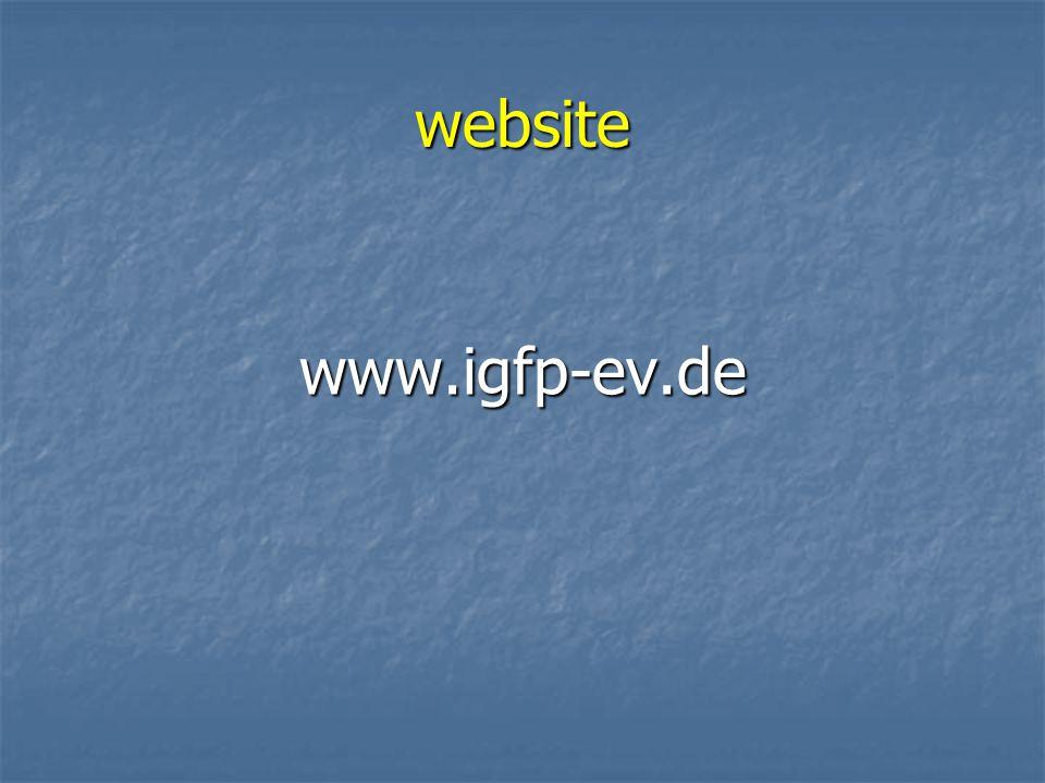 website www.igfp-ev.de