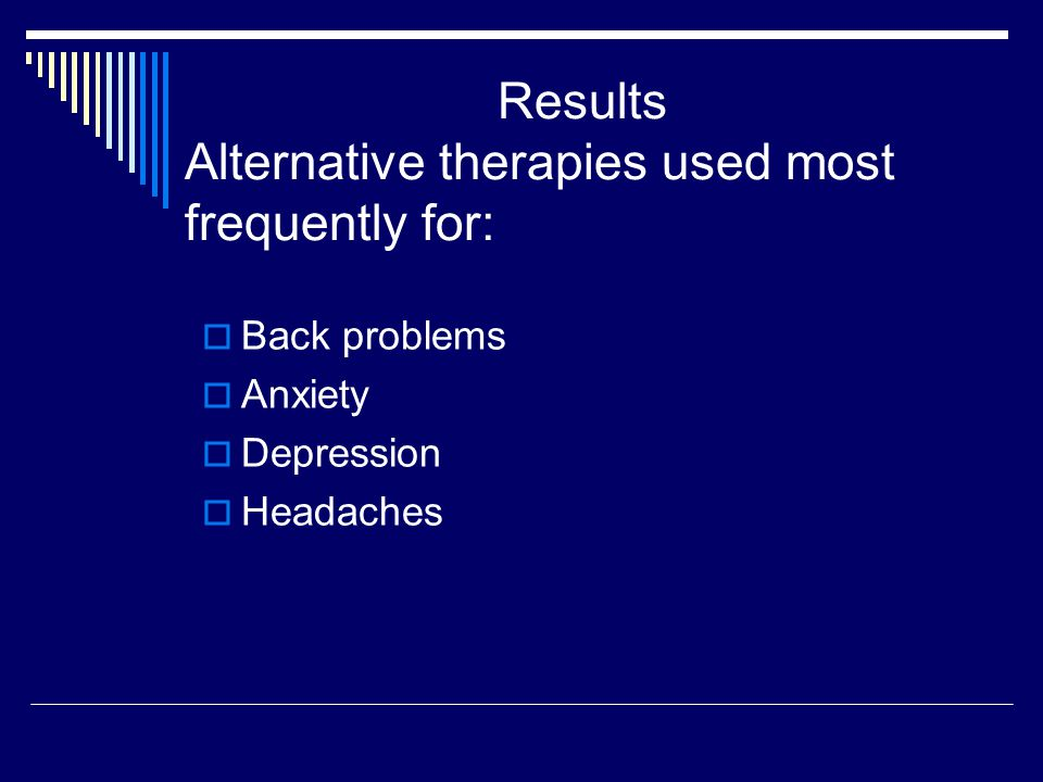 Disclosure of Alternative Therapies to Physicians  1990: 38.5%  1997:38.5%