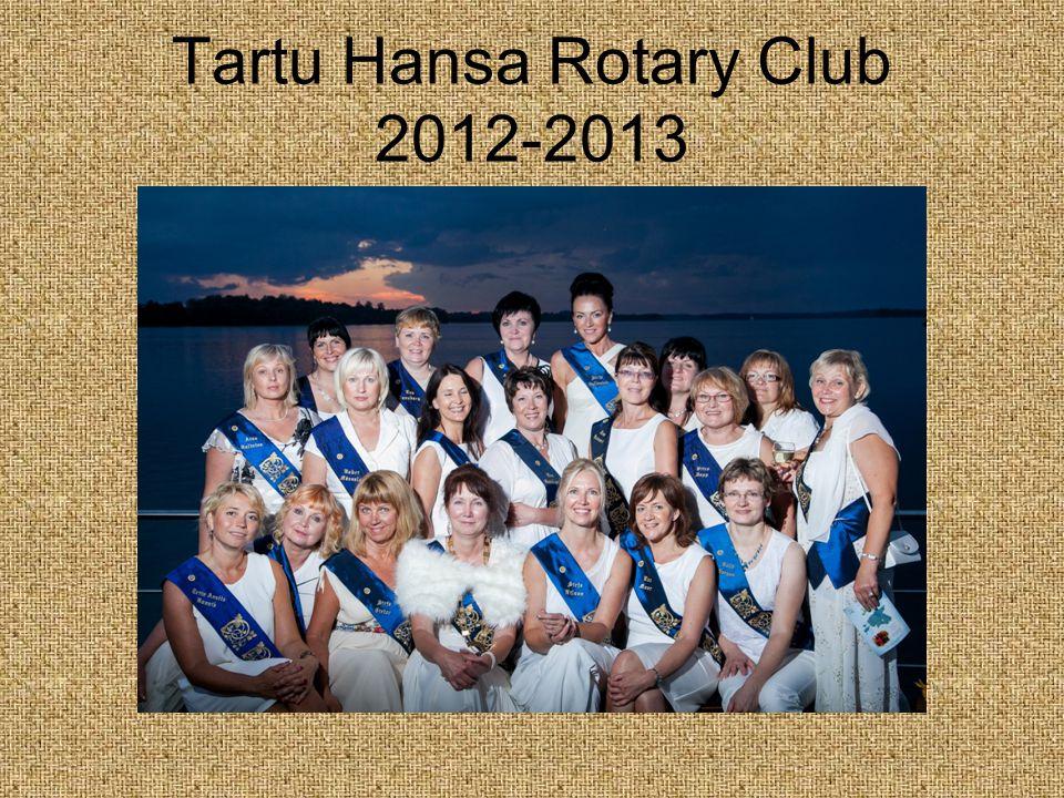 Tartu Hansa Rotary Club 2012-2013