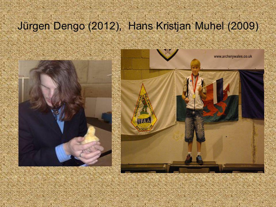 Jürgen Dengo (2012), Hans Kristjan Muhel (2009)