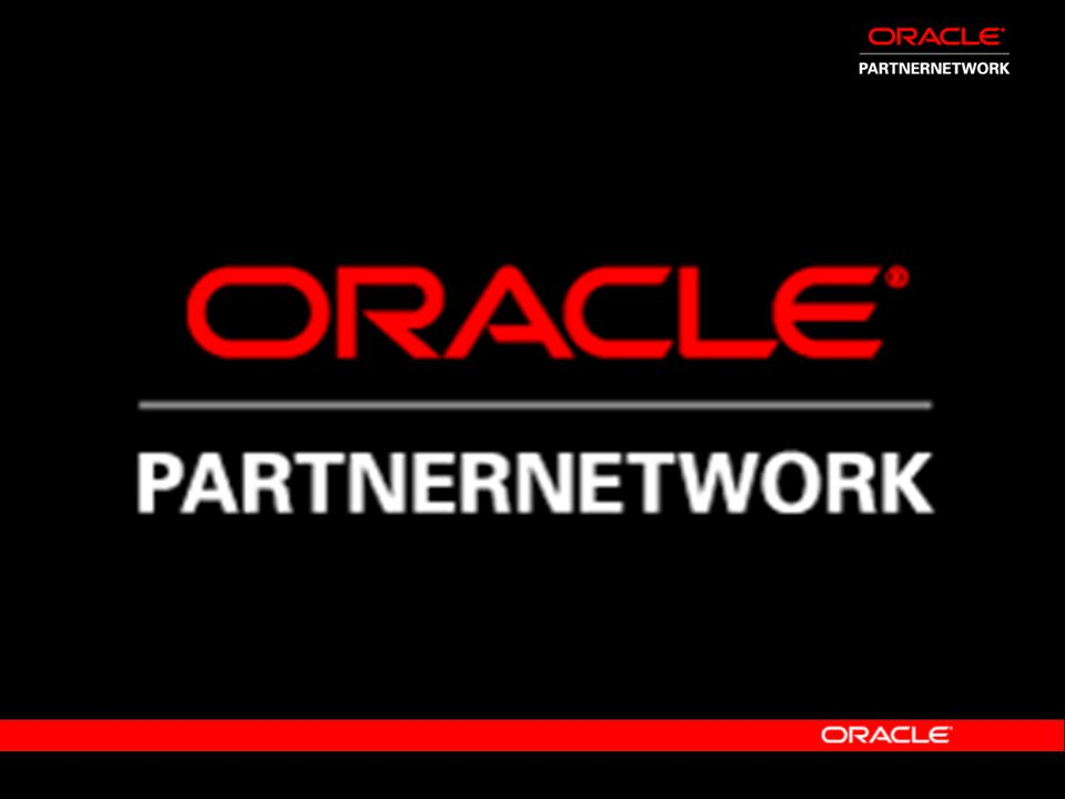 Ellen Minter Vice President Global Industry Strategy & Marketing and Mauro Pastormerlo Vice President Global Industry Partner Strategy Oracle Corporation