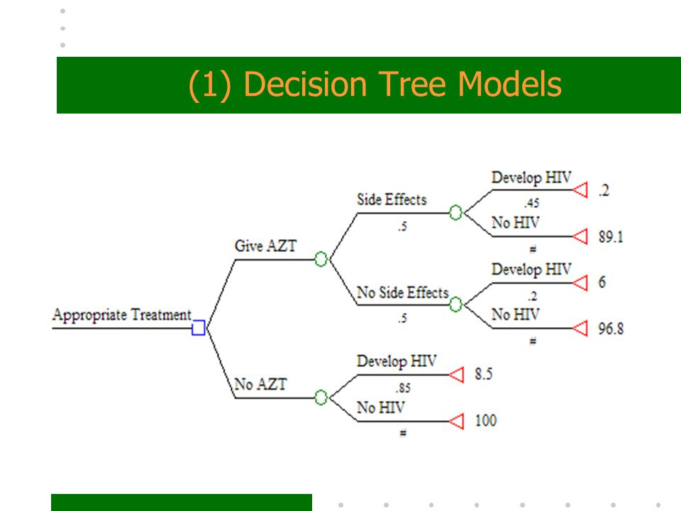 (1) Decision Tree Models