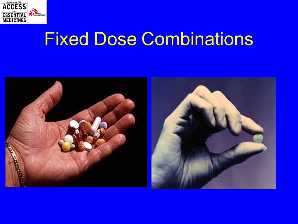 Fixed Dose Combinations
