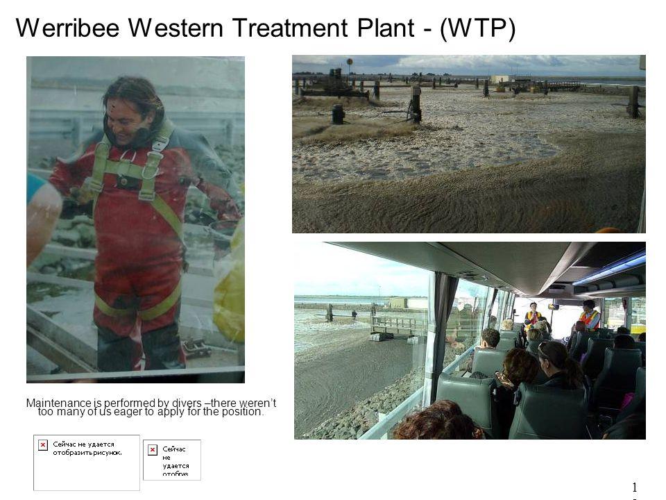 18 Werribee Western Treatment Plant - (WTP).