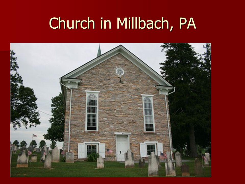 Church in Millbach, PA