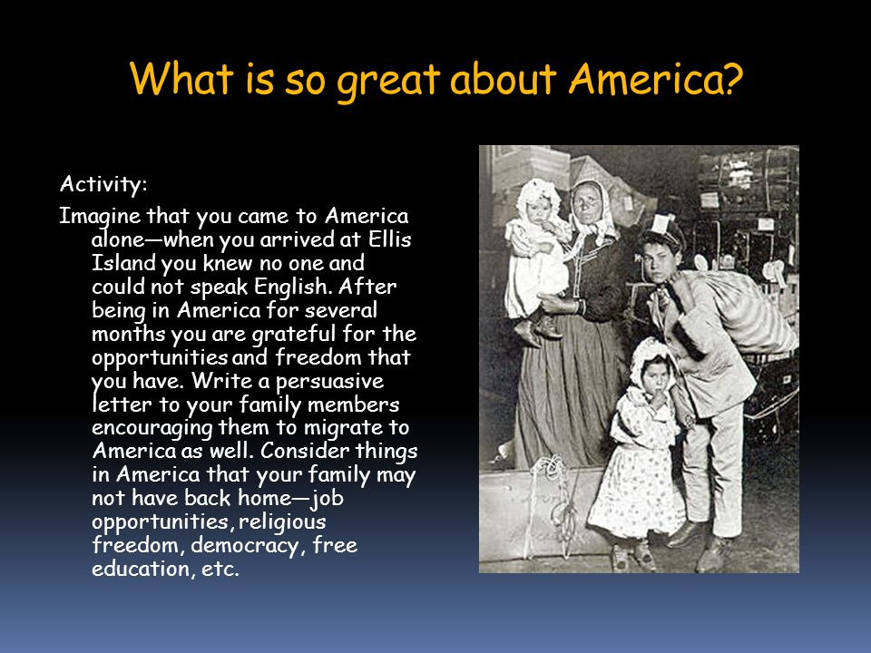 What hardships did the immigrants face.
