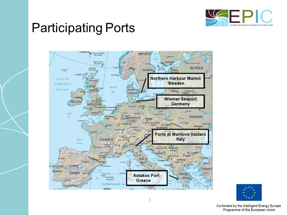 3 Participating Ports