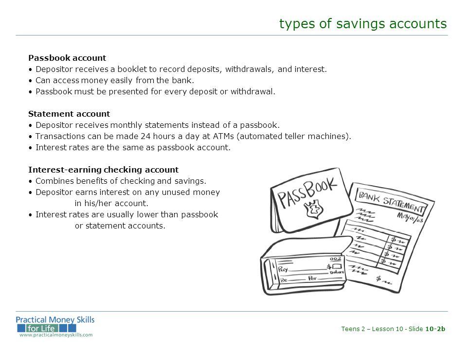 money-market account Checking/savings account.