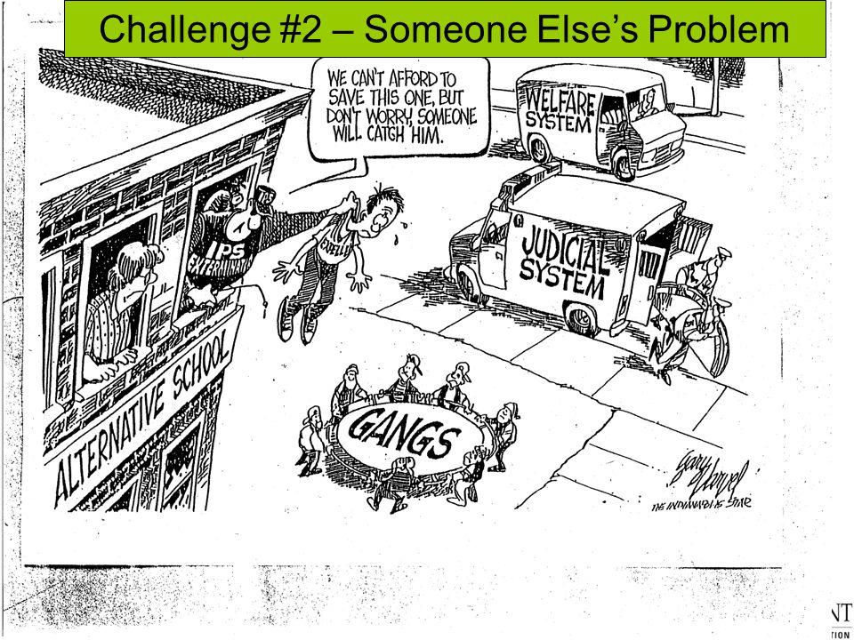 Challenge #2 – Someone Else's Problem