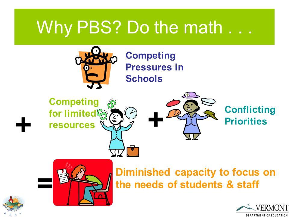 Why PBS. Do the math...