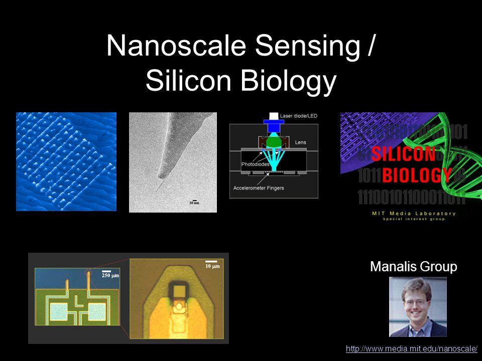 Nanoscale Sensing / Silicon Biology Manalis Group http://www.media.mit.edu/nanoscale/