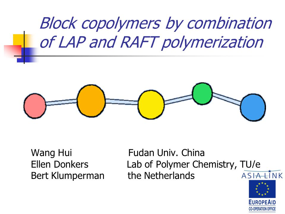 Block copolymers by combination of LAP and RAFT polymerization Wang Hui Fudan Univ.
