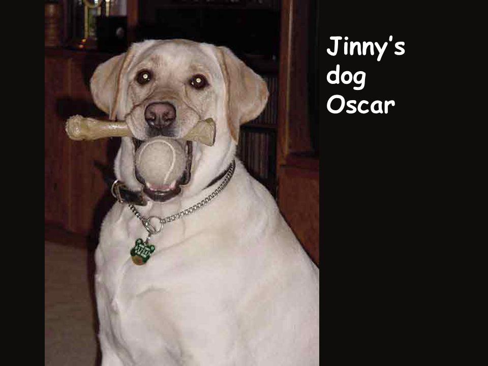 Jinny's dog Oscar