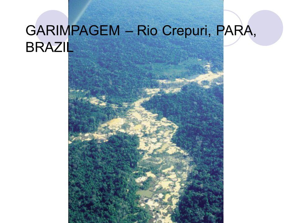 GARIMPAGEM – Rio Crepuri, PARA, BRAZIL