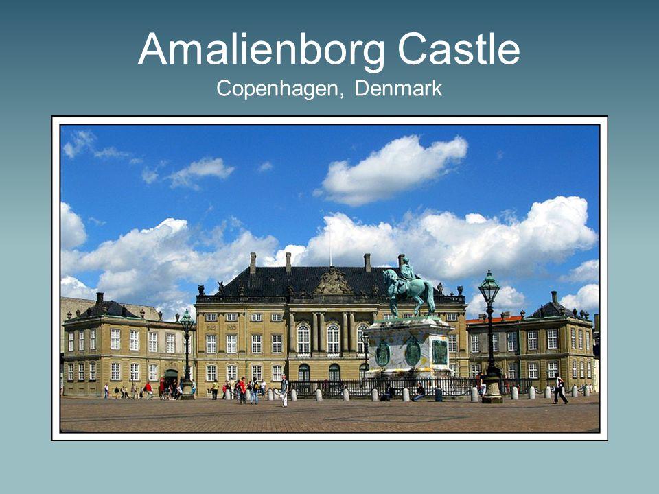 Amalienborg Castle Copenhagen, Denmark