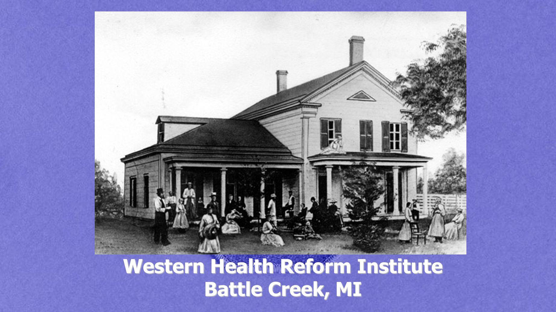 Western Health Reform Institute Battle Creek, MI