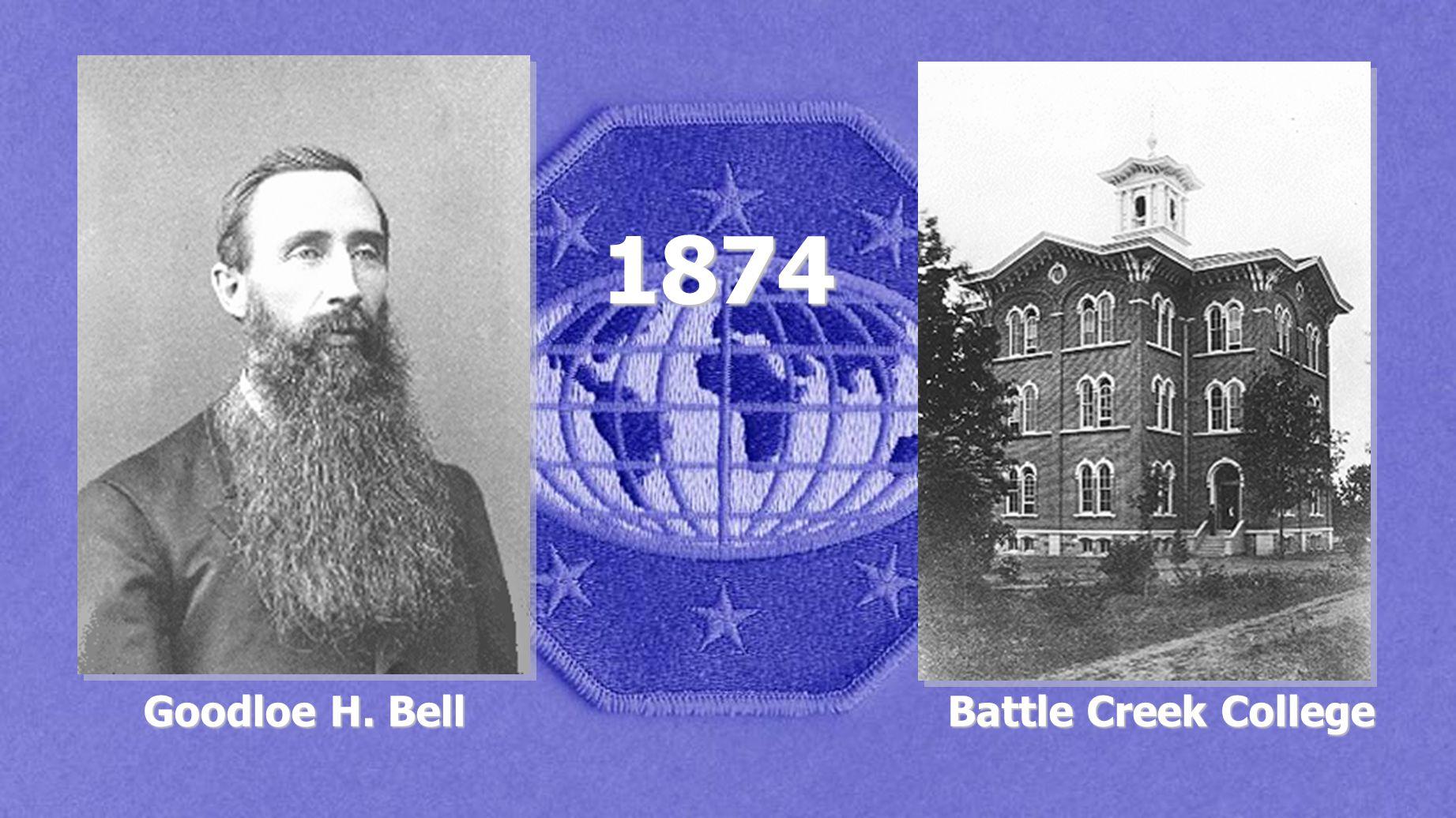 Goodloe H. Bell Battle Creek College 1874