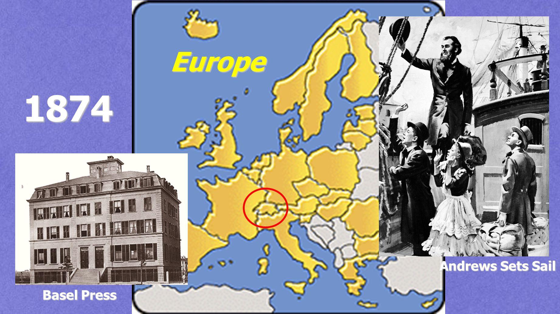 Europe Andrews Sets Sail Basel Press 1874