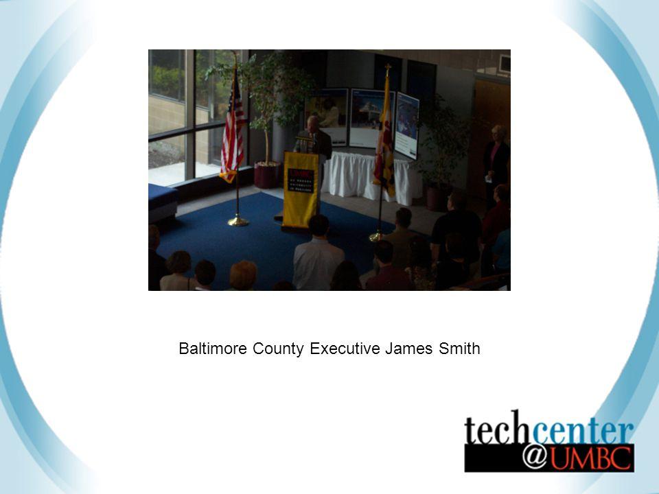Baltimore County Executive James Smith