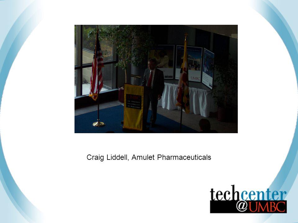 Craig Liddell, Amulet Pharmaceuticals