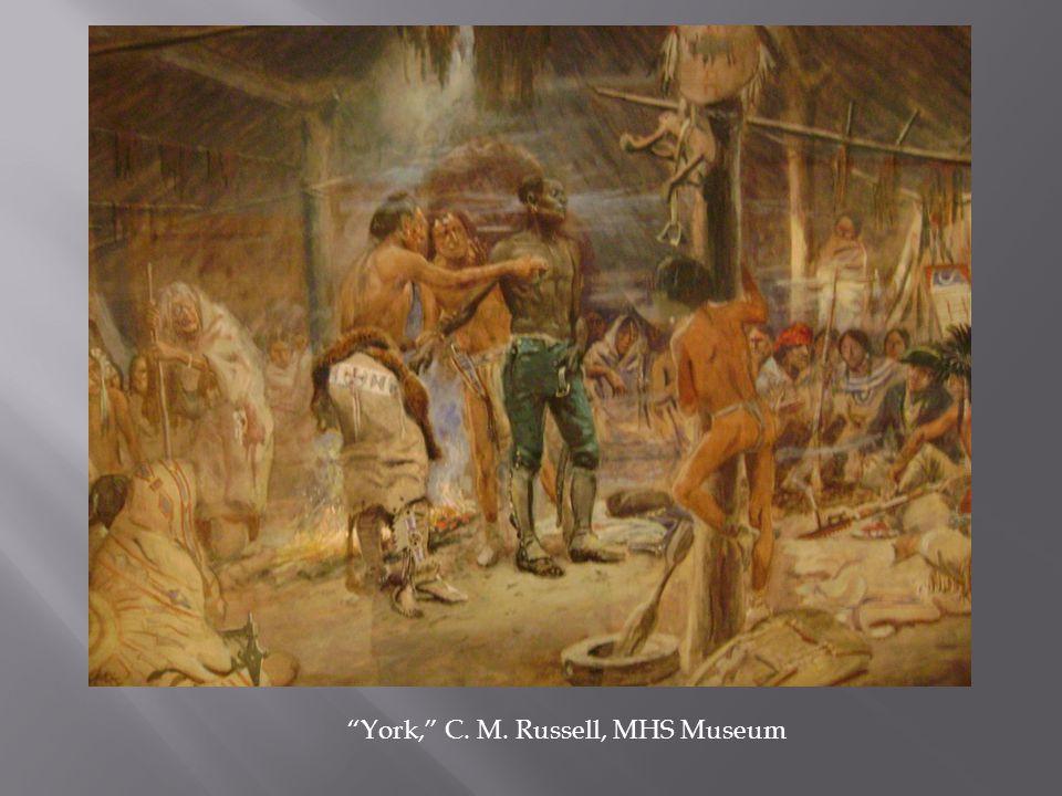 """York,"" C. M. Russell, MHS Museum"
