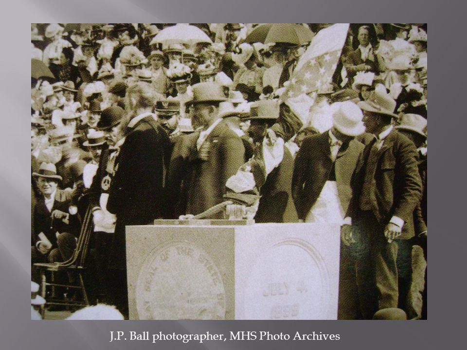 J.P. Ball photographer, MHS Photo Archives