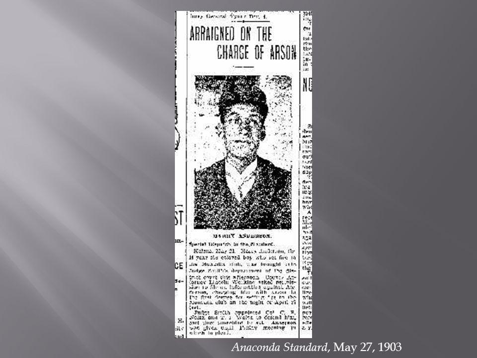 Anaconda Standard, May 27, 1903