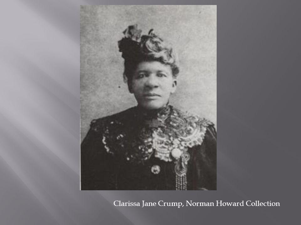 Clarissa Jane Crump, Norman Howard Collection