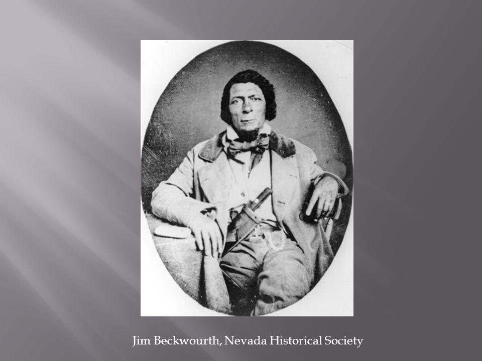 Jim Beckwourth, Nevada Historical Society