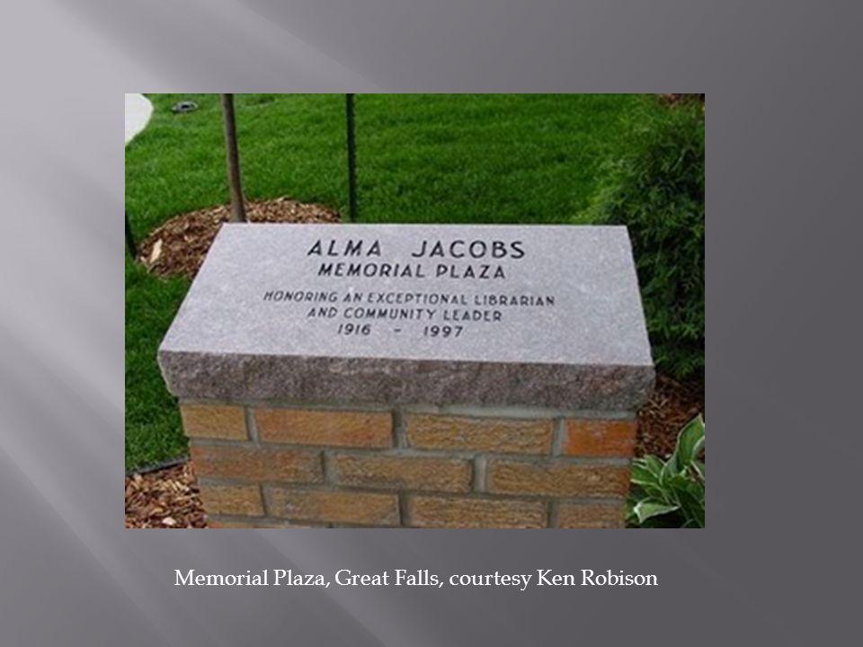 Memorial Plaza, Great Falls, courtesy Ken Robison