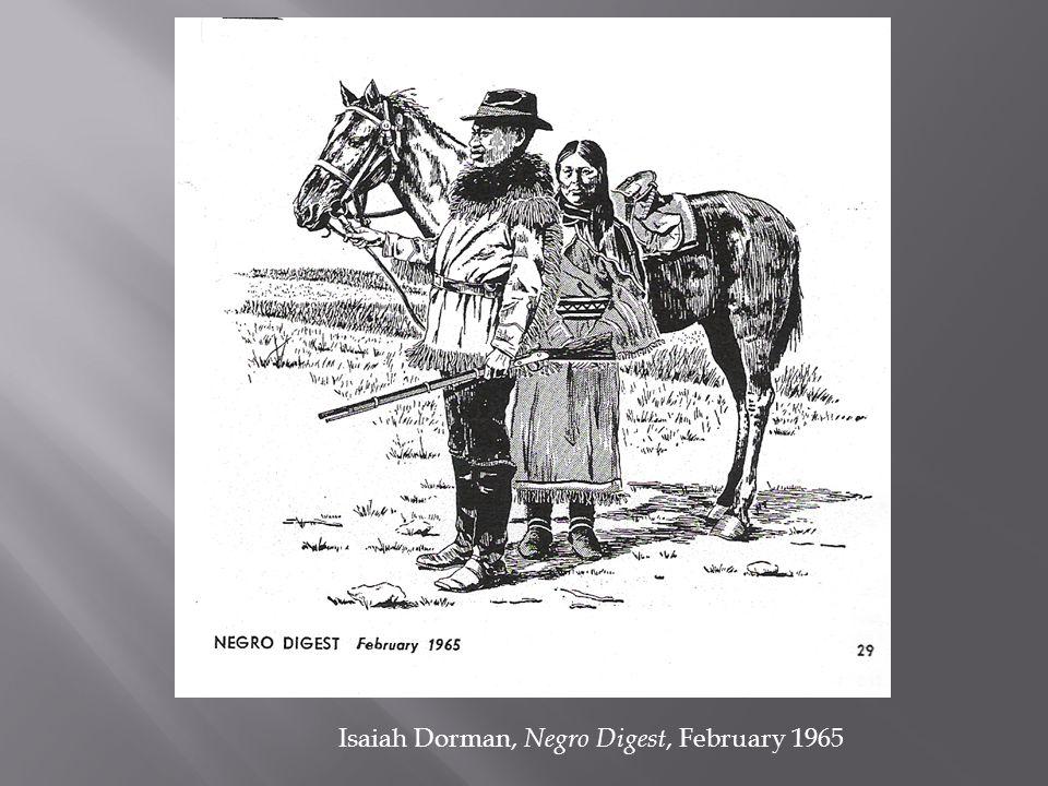 Isaiah Dorman, Negro Digest, February 1965