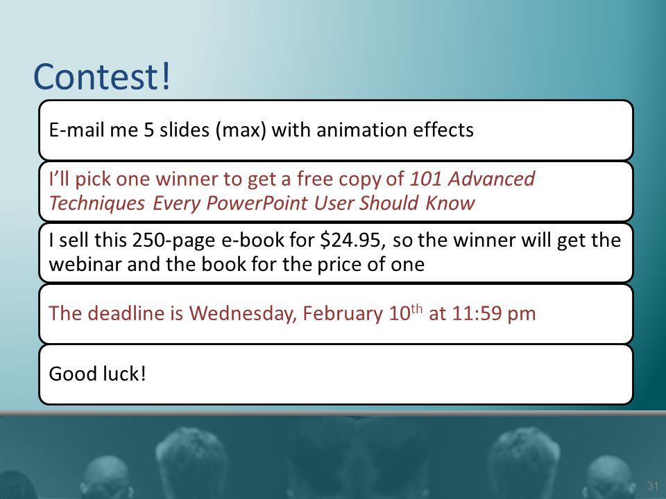 Contest.