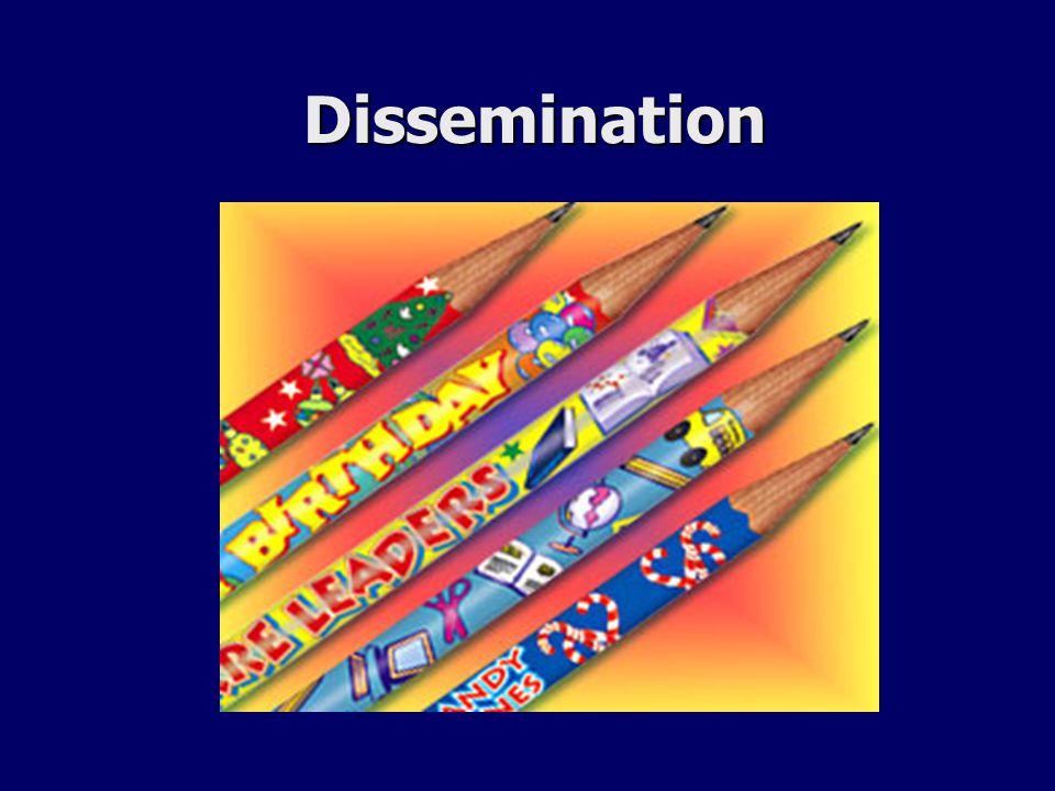Dissemination Dissemination