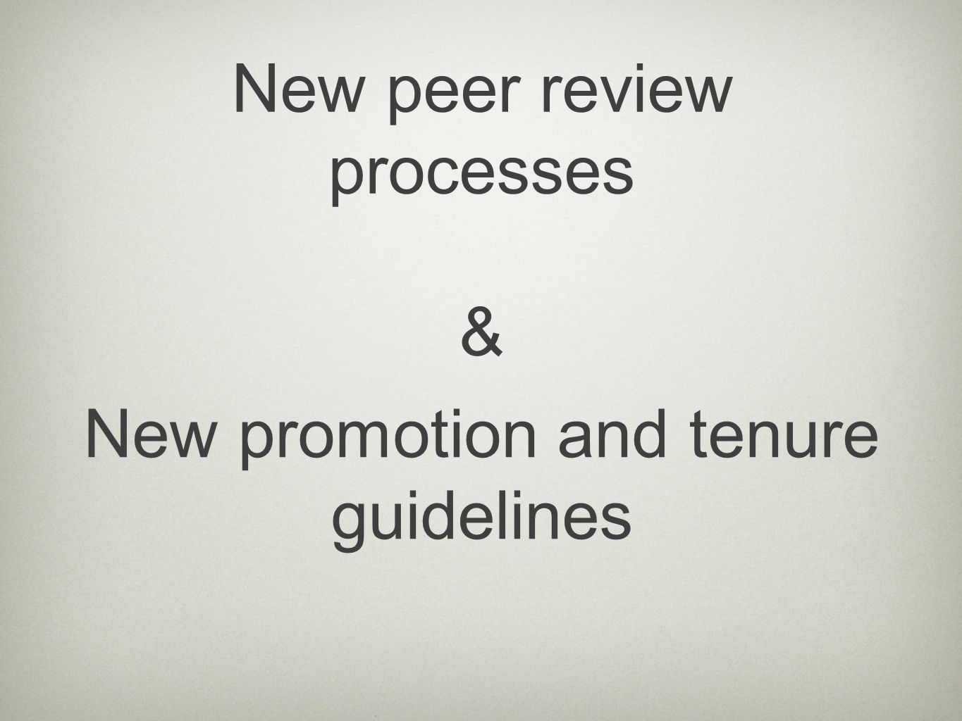 The Impact of Digital scholarship on peer review An opportunity to fix some of the shortcomings of traditional peer review.
